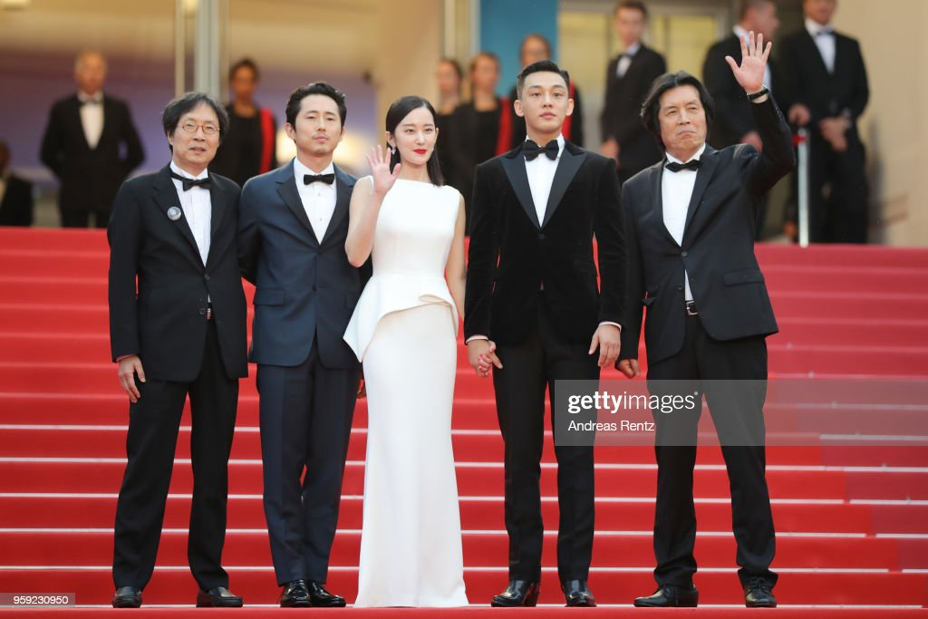 """Burning "" Red Carpet Arrivals - The 71st Annual Cannes Film Festival"