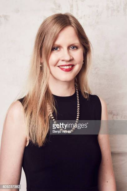 Executive producer Justine Nagan of PBS's 'Swim Team' poses for a portrait during the 2017 Summer Television Critics Association Press Tour at The...