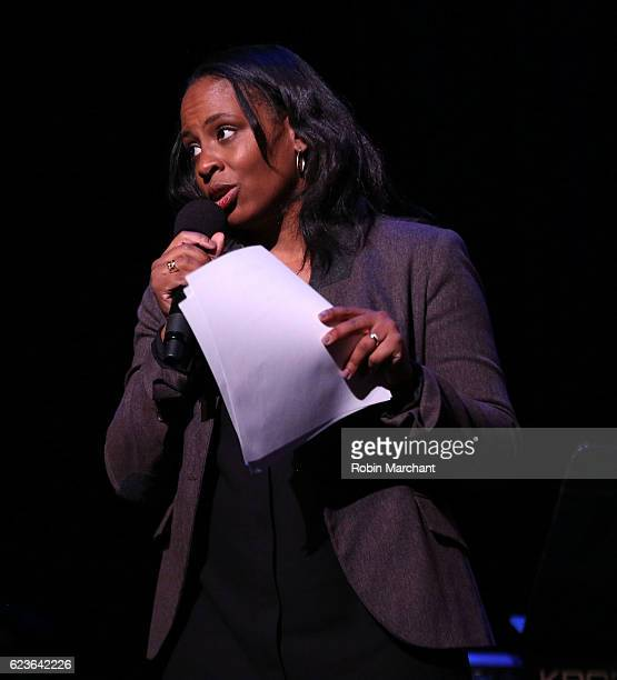 Executive producer Kamilah Forbes attends 'The First Noel' Sneak Peek at The Apollo Theater on November 16 2016 in New York City
