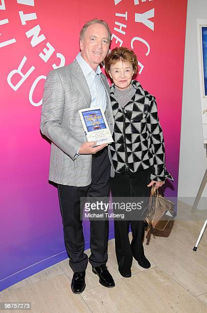 Executive Producer Ken Corday and actress Peggy McCay arrive Corday's new book 'The Days Of Our Lives The Untold Story of One Family's Dream and the...