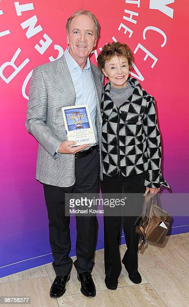 Executive Producer Ken Corday and actress Peggy McCay attend the book launch party for 'Days Of Our Lives' Executive Producer Ken Corday at The Paley...