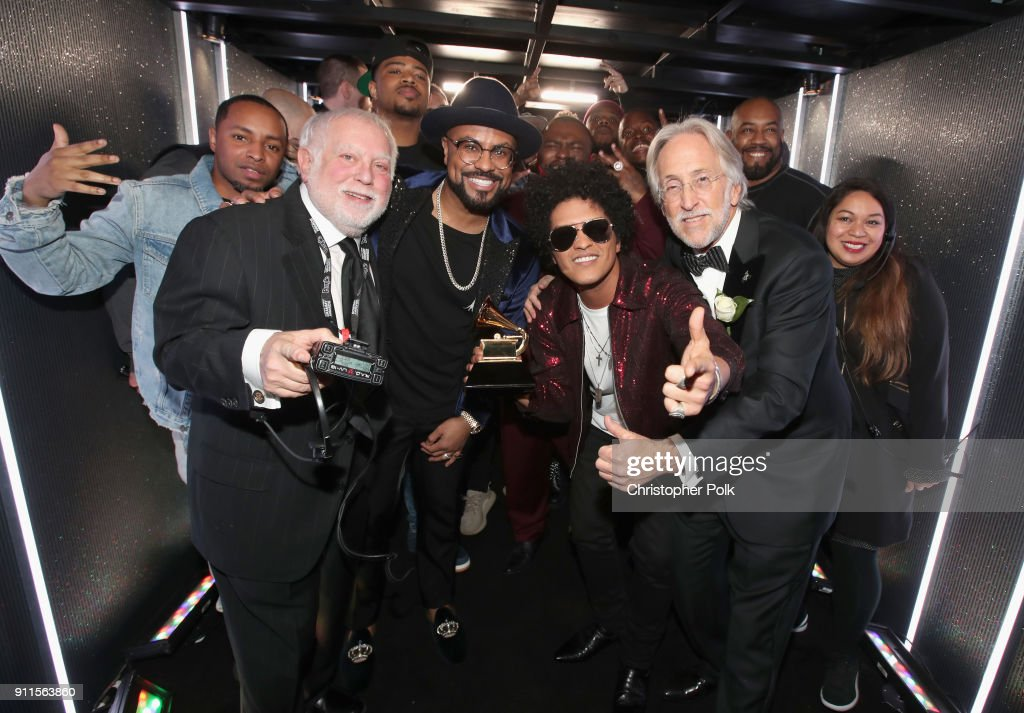 executive producer ken ehrlich music producer philip lawrence album of the year winner bruno - Executive Producer Music