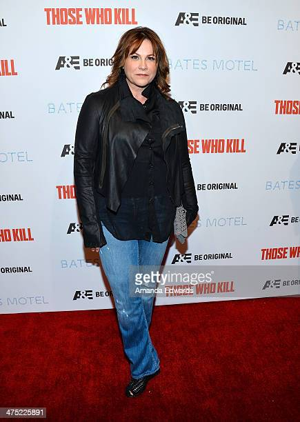 Executive producer Kerry Ehrin arrives at the premiere party for AE's Season 2 of Bates Motel and the series premiere of Those Who Kill at Warwick on...