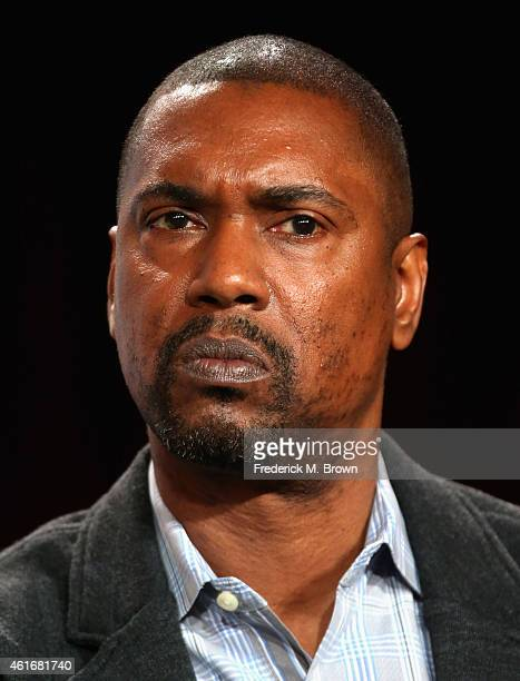 Executive Producer Kevin Hooks speaks onstage during the 'Backstrom' panel discussion at the FOX portion of the 2015 Winter TCA Tour at the Langham...