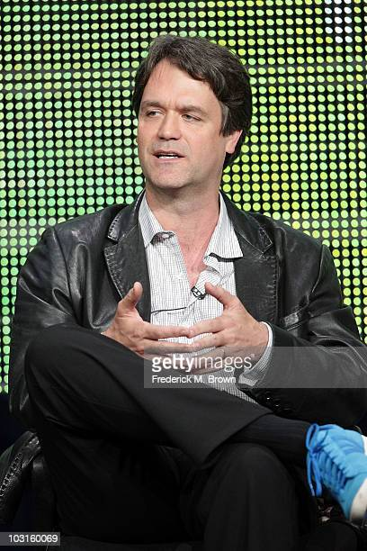 """Executive Producer Kevin Murphy speaks onstage during the """"Hellcats"""" panel during the 2010 Summer TCA Tour Day 2 at the Beverly Hilton Hotel on July..."""