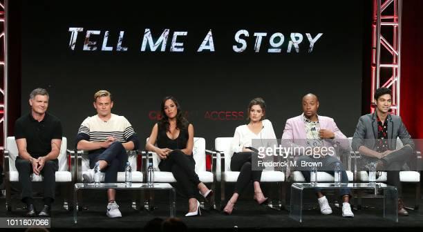 Executive Producer Kevin Williamson actor Billy Magnussen actress Dania Ramirez actress Daniel Campbell actor Dorian Missick and actor Davi Santos of...