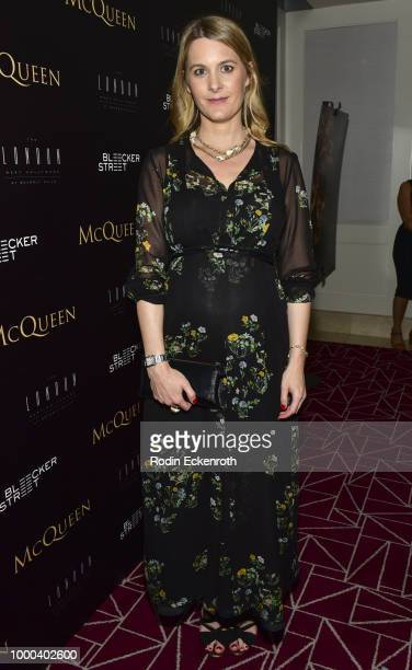 """Executive Producer Kinvara Balfour attends a special screening of """"MCQUEEN"""" at The London Hotel on July 16, 2018 in West Hollywood, California."""