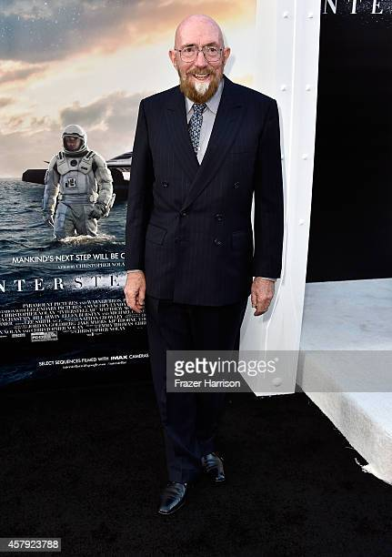 Executive producer Kip Thorne attends the premiere of Paramount Pictures' Interstellar at TCL Chinese Theatre IMAX on October 26 2014 in Hollywood...