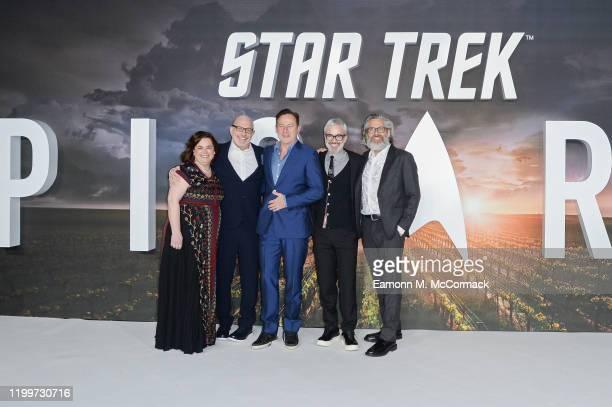Executive Producer Kirsten Beyer, Executive Producer Alex Kurtzman, Jason Isaacs, Executive Producer Akiva Goldsman and Executive Producer Michael...