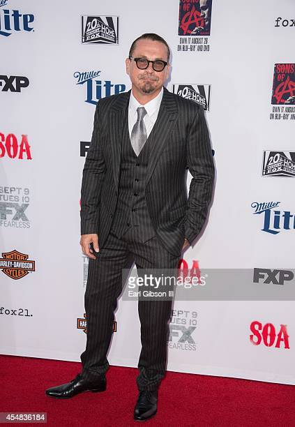 Executive Producer Kurt Suter attends FX's 'Sons Of Anarchy' Premiere at TCL Chinese Theatre on September 6 2014 in Hollywood California