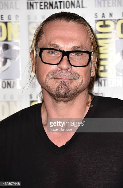 Executive producer Kurt Sutter attends FX's 'Sons of Anarchy' Press Line during ComicCon International 2014 at San Diego Convention Center on July 27...