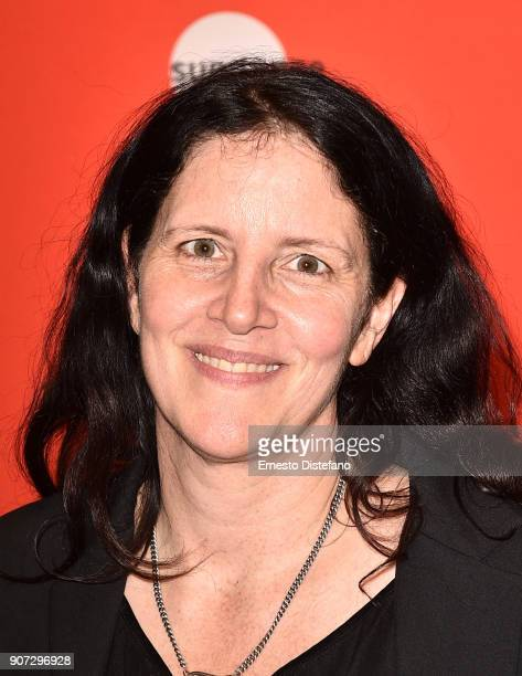 Executive producer Laura Poitras attends the 'Crime And Punishment' Premiere during the 2018 Sundance Film Festival at The Ray on January 19 2018 in...