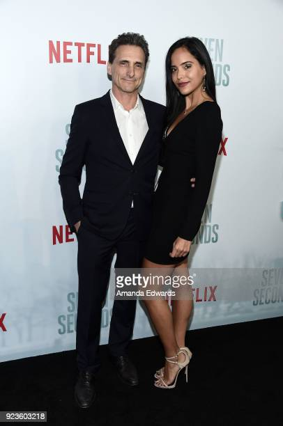Executive producer Lawrence Bender arrives at Netflix's 'Seven Seconds' Premiere at The Paley Center for Media on February 23 2018 in Beverly Hills...