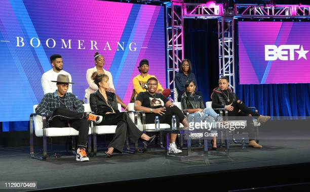 Executive producer Lena Waithe Leland Martin executive producer Halle Berry Brittany Inge executive producer Dime Davis RJ Walker Tetona Jackson Lala...