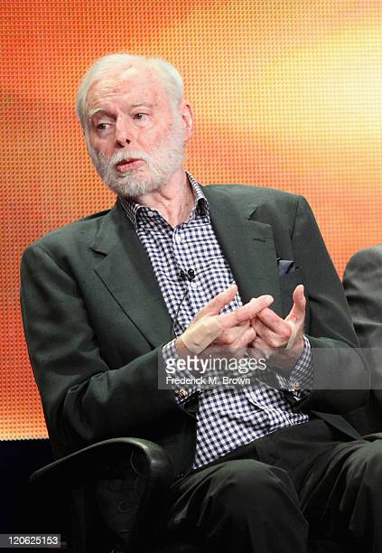 Executive Producer Leonard Goldberg of the television show Charlie's Angels speaks during the Disney ABC Television Group portion of the 2011 Summer...