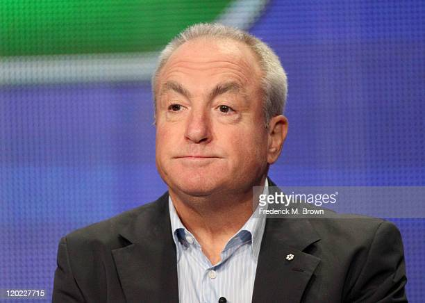 Executive Producer Lorne Michaels speaks during the 'Up All Night' panel during the NBC Universal portion of the 2011 Summer TCA Tour held at the...