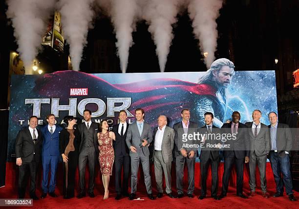 Executive producer Louis D'Esposito actor Jonathan Howard actress Jaimie Alexander actor Zachary Levi actress Kat Dennings actor Tom Hiddleston actor...