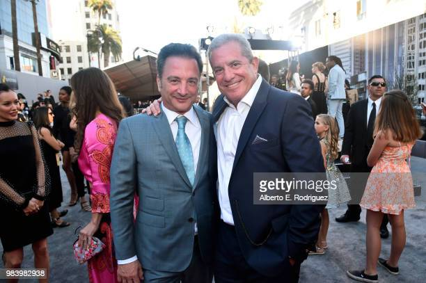 Executive producer Louis D'Esposito and Executive producer Charles Newirth attend the Los Angeles Global Premiere for Marvel Studios' AntMan And The...