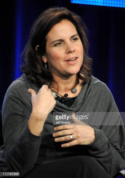 """Executive producer Lydia Pilcher of """"You Don't Know Jack"""" speaks during the HBO portion of the 2010 Television Critics Association Press Tour at the..."""
