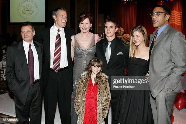 Executive Producer Marc Frydman actor Kyle Secor actress Geena Davis actor Matt Lanter actress Caitlin Wachs actor Harry Lennix and actress Jasmine...