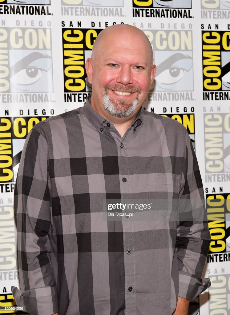 Executive producer Marc Guggenheim at the 'Arrow' Press Line during Comic-Con International 2017 at Hilton Bayfront on July 22, 2017 in San Diego, California.