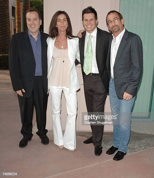 Executive Producer Marco Pennette coexecutive producer Teri Weinberg creator/executive producer Silvio Horta and director James Hayman attend The...