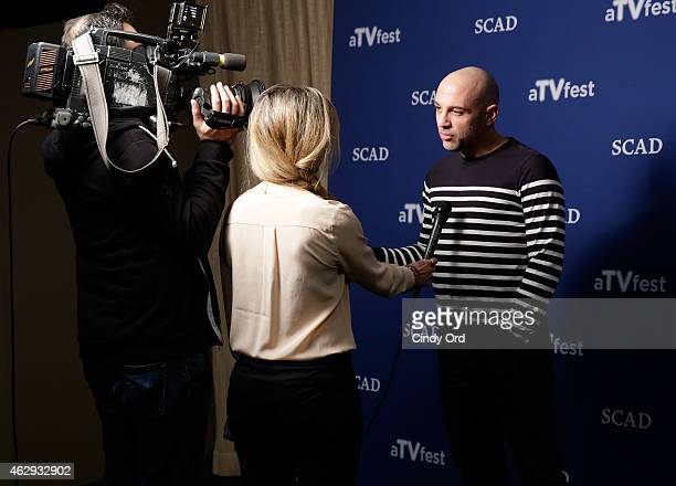 Executive producer Marcos Siega speaks at 'The Following' press junket during aTVfest presented by SCAD on February 7 2015 in Atlanta Georgia