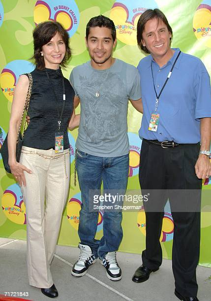 Executive Producer Marilyn Sadler actor Wilmer Valderrama and executive producer Rick Gitelson attend the premiere of Handy Manny hosted by the...