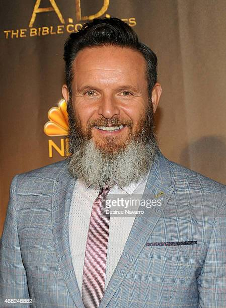 Executive Producer Mark Burnett attends 'AD The Bible Continues' New York Premiere Reception at The Highline Hotel on March 31 2015 in New York City