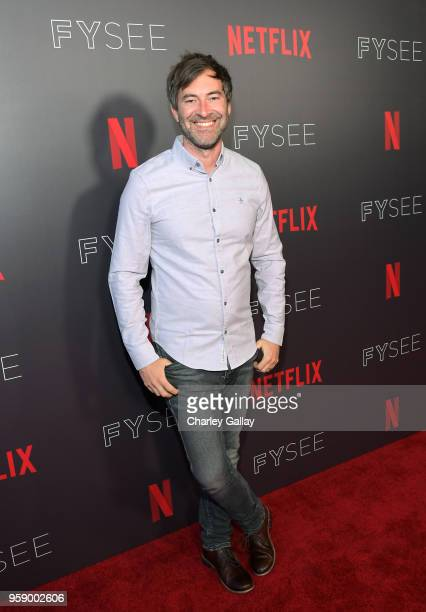 Executive producer Mark Duplass attends theWild Wild Country Panel at Netflix FYSEE at Raleigh Studios on May 15 2018 in Los Angeles California