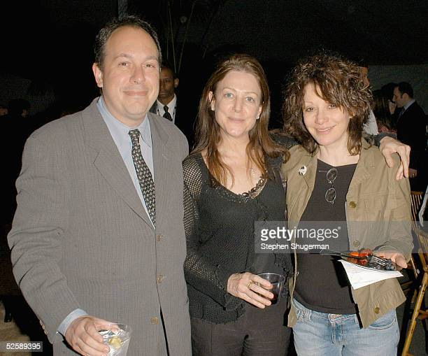 Executive producer Mark Gordon Carrie Frazier and director Amy Heckerling attend the after party for the HBO Films screening of Warm Springs at the...