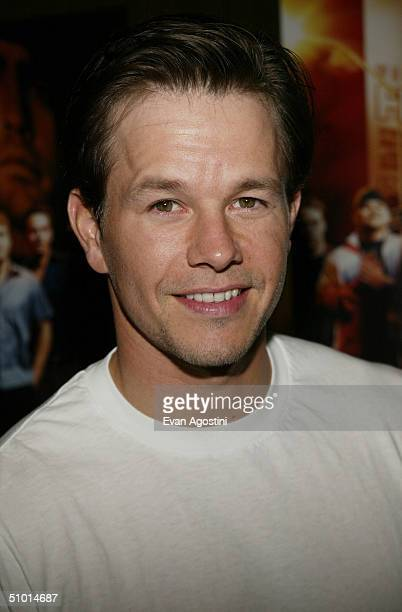 Executive Producer Mark Wahlberg attends a premiere screening of HBO's new series Entourage at the Loews EWalk Theater June 30 2004 in New York City