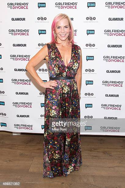 Executive Producer Marti Noxon attends the Girlfriend's Guide To Divorce New York Series Premiere at Crosby Street Hotel on November 20 2014 in New...