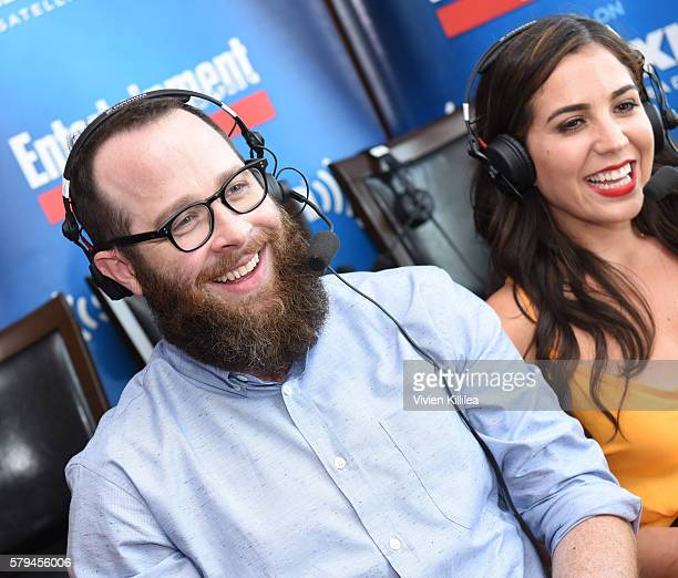 Executive producer Martin Gero and actress Audrey Esparza attend SiriusXM's Entertainment Weekly Radio Channel Broadcasts From Comic-Con 2016 at Hard...