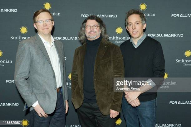 """Executive Producer Matt Wolpert, """"For All Mankind"""", series creator Ronald D. Moore, and Executive Producer Ben Nedivi attend the Washington DC..."""