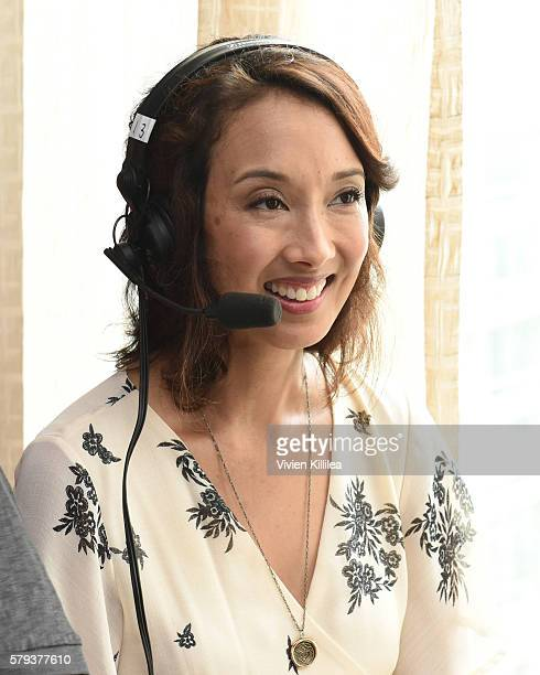 Executive producer Maurissa Tancharoen attends SiriusXM's Entertainment Weekly Radio Channel Broadcasts From ComicCon 2016 at Hard Rock Hotel San...