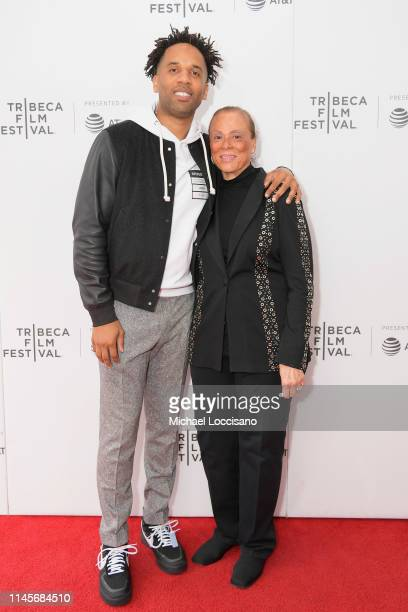 Executive Producer Maverick Carter and Lonnie Ali attend the What's My Name | Muhammad Ali Tribeca Premiere on April 28 2019 in New York City
