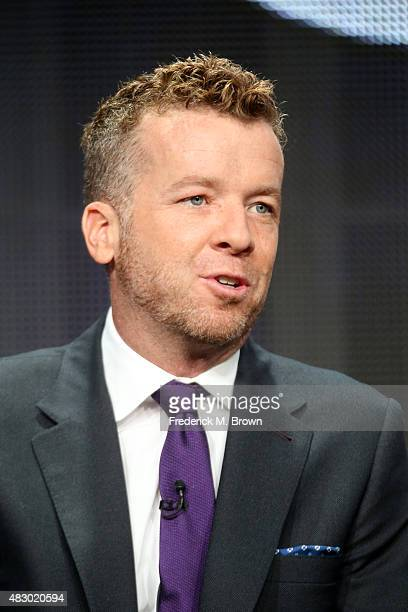 Executive producer McG speaks onstage during the 'Kevin From Work' panel discussion at the ABC Family portion of the 2015 Summer TCA Tour at The...