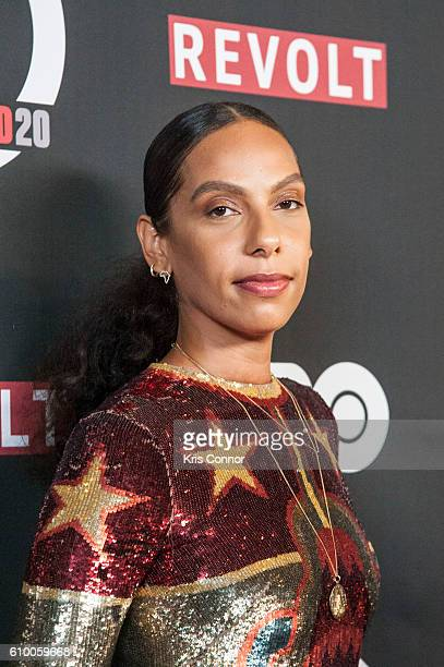 """Executive Producer Melina Matsoukas attends the screening of HBO's new sitcom """"Insecure"""" during the 2016 Urbanworld Film Festival at AMC Empire 25..."""