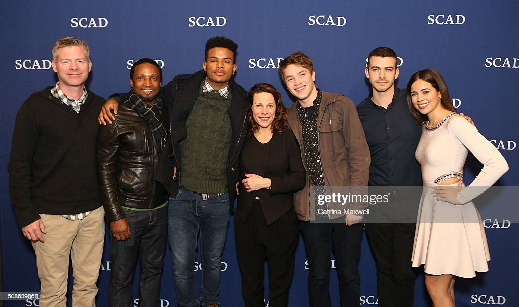 SCAD Presents aTVfest 2016 - Icon Award & Spotlight Cast Award Presentations : News Photo