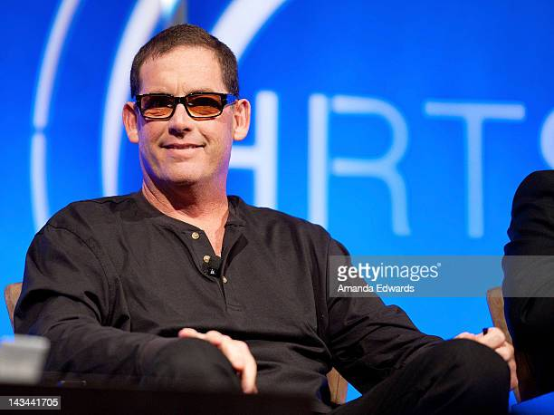 Executive Producer Mike Fleiss attends The Hollywood Radio Television Society Presents The Unscripted Hitmakers luncheon at The Beverly Hilton Hotel...