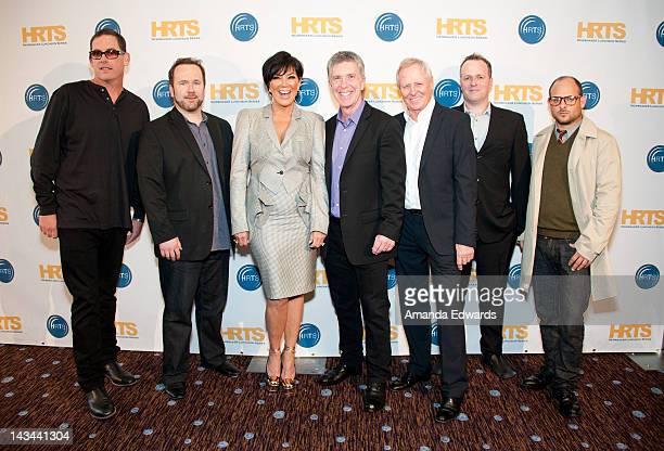 Executive Producer Mike Fleiss Brent Montgomery Kris Jenner Tom Bergeron Bertram van Munster Conrad Green and Eli Holzman arrive at The Hollywood...
