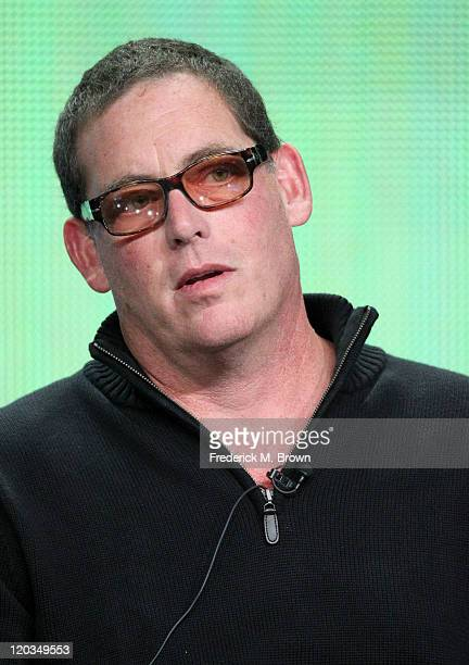 Executive Producer Mike Fleiss speaks during the 'H8R' panel during the CW portion of the 2011 Summer TCA Tour held at the Beverly Hilton Hotel on...