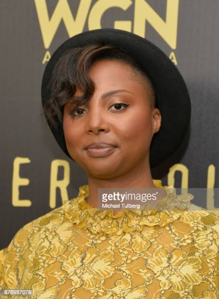 """Executive Producer Misha Green attends a For Your Consideration event for WGN America's """"Underground"""" at The Landmark on May 2, 2017 in Los Angeles,..."""