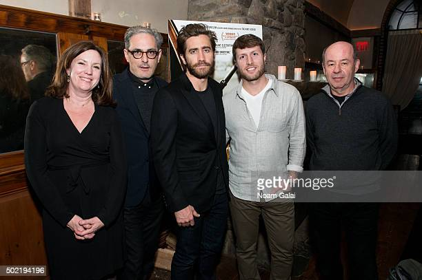 Executive Producer Molly Thompson Producer John Lesher Actor Jake Gyllenhaal Director/Producer Matthew Heineman and Producer Tom Yellin attend a...
