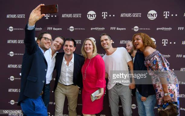 Actress Anna Maria Muehe during the series premiere of 'Arthurs Gesetz' at Filmtheater Sendlinger Tor on July 18 2018 in Munich Germany
