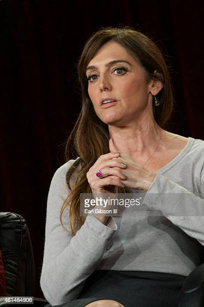 Executive Producer Nancy M. Pimental speaks onstage during the 'Sexuality And Television: A Female Perspective' panel as part of the CBS/Showtime...