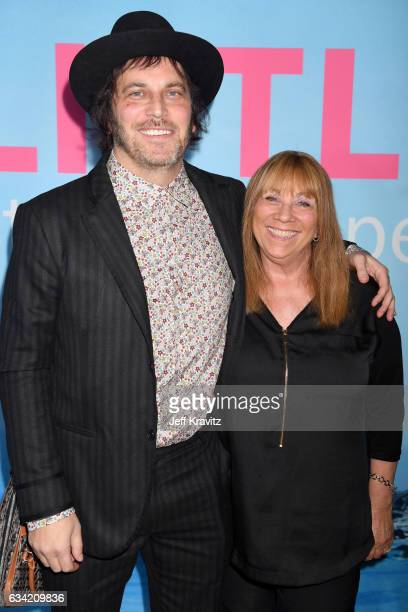 Executive producer Nathan Ross and guest attend the premiere of HBO's 'Big Little Lies' at the TCL Chinese Theater on February 7 2017 in Hollywood...