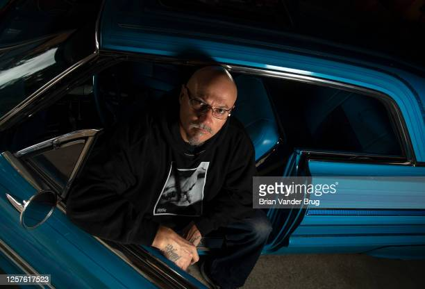 Executive producer of 'Lowriders', Estevan Oriol is photographed for Los Angeles Times on April 7, 2020 in Hollywood, California. PUBLISHED IMAGE....