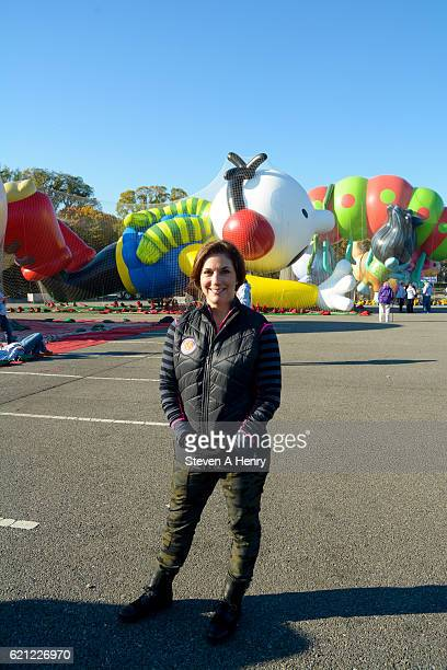 Executive producer of Macy's Thanksgiving Day Parade Amy Kule attends the 90th Anniversary Macy's Thanksgiving Day Parade Balloonfest at Citi Field...